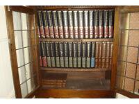 Encyclopaedia Britannica with Bookcase