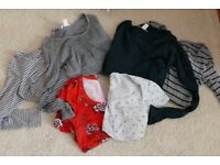 Assorted size small maternity tops