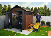 KETER FUSION Premium 759 (2.9m x 2.3m) BEST QUALITY SHED from KETER RRP £1100+