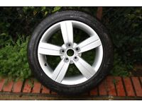 """AUDI 17""""ALLOY WHEEL AND TYRE"""