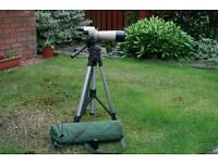Telescope Viking bought from RSPB Lochwinnoch. It is in excellent condition but is rarely used.