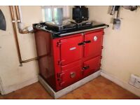 Rayburn 345W wood burning cooker and central heating boiler great working order and condition