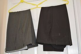 two pairs Trousers by M&S man.