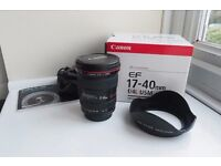 Canon EF 17-40mm F/4 L USM Lens For Sale