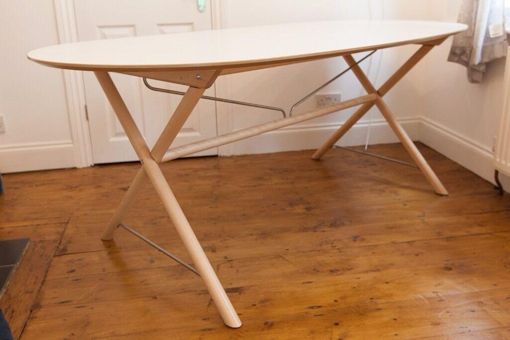 IKEA Slahult Dining Table Dalshult Underframe Birch
