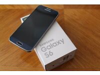USED SAMSUNG GALAXY S6 IN BLACK - 32GB ON EE