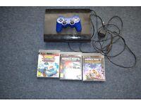 ps3 console + 3 bundle