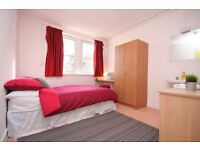 Furnished Room within a 9 bed HMO Apartment, Waterfront Campus, Greenock