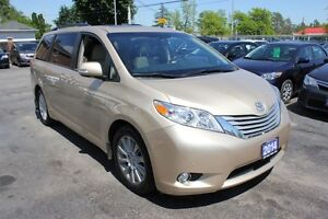 2014 Toyota Sienna Limited Dual Roof Loaded