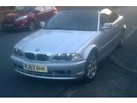 2003 BMW 318 2.0 CI Convertible Long MOT, Black Leather, Electric Hood, Fully Loaded