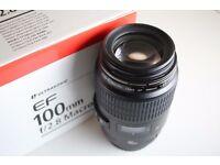 Canon EF 100mm F/2.8 USM Lens