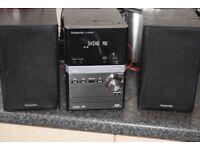 PANASONIC DAB RADIO/USB/CD/IPOD DOCK/70W/DABANTENNA CANSEE WORKING