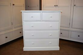 Burford Painted 2+3 Chest of Drawers
