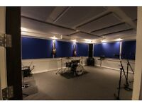 New rehearsal rooms in Horley, Surrey