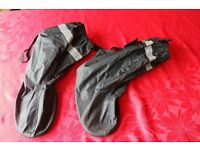 Motorcycle boot cover (over boots)