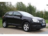 2007 Nissan Qashqai 2.0 Visia CVT 2WD 5dr AUTOMATIC, LOW MILES, NEW MOT, WARRANTY, PX WELCOME
