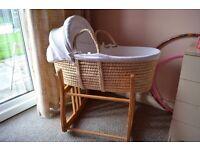 Kub Nursery Moses Basket