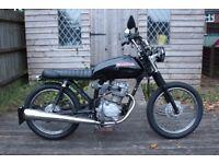 1987 Honda CG125 Custom/Scrambler/Bobber - Low miles - Full MOT