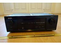 Denon AVR-X1000 Integrated Network AV Surround Receiver - Black - Cinema Amp