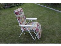 New Garden Recliner Chair