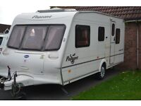 2003 Bailey Pageant Auvergne, 5 berth touring caravan