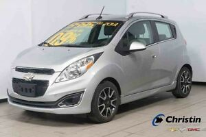 2013 CHEVROLET SPARK 2LT AUTO+A/C+CUIR+MYLINK