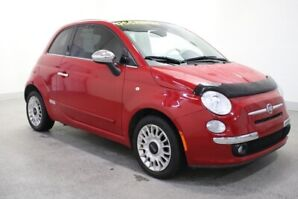 2012 Fiat 500 Lounge +CONVERTIBLE+AUDIO BOSE+CUIR+