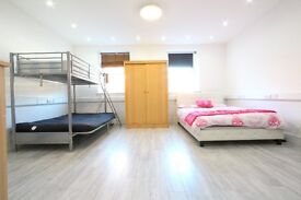 COUNCIL TAX INCLUDED !! SPACIOUS STUDIO SHORT WALK FROM ALDGATE EAST STATION