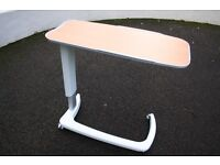 Barely Used Adjustable Over-bed/Over-chair Table For Sale.