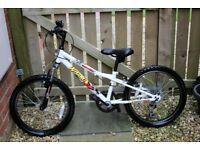 Apollo Wham Boys' Mountain Bike - 20inch; (7-9 years age group)