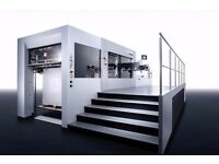 Used BOBST SP 1080 DIE CUTTING MACHINE