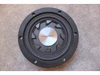 "Pioneer shallow mount sub - 8"" 120 watt RMS subwoofer"