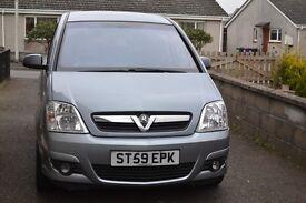 Vauxhall Meriva 1.4 i 16v Active Plus only 69000 miles