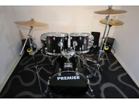 Premier Drum Kit Black