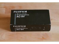 Fujifilm AC-9V Power Adaptor (to use with CP-W126 Coupler) X-Pro1, X-Pro2