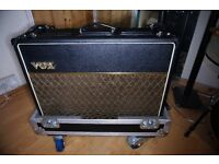 £550 Vox AC30CC2 with Full flight case and new valves