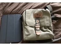 Greenland Nature Shoulder bag, perfect for fitting iPad or a small book