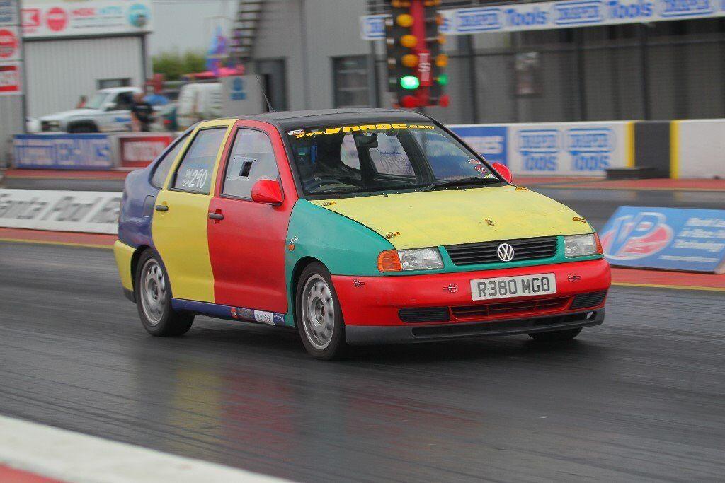 Volkswagen Polo Vr6 Saloon Harlequin Replica Road Legal Drag Track