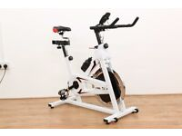JLL Fitness Ltd - IC300 Exercise Bike White - Ex Showroom Model Collection Only - 1 Month Warranty