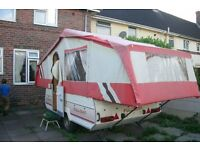 pennie pullman trailer tent with full awing.