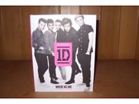 1D, Where We Are, our band, our story, brand new book