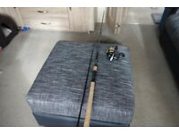 Korum 10ft feeder rod and float rod, reels and accessories