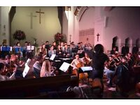 Non profesional musicians wanted for orchestra project
