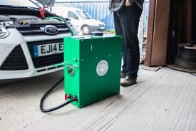 HHO Engine Carbon Cleaning Machine, new and free UK delivery