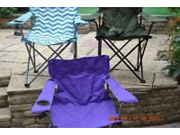 camping chair used