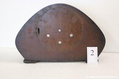 CASSA DI OROLOGIO ANNI '40 NO MECCANISMO -  PENDOLO DECO - VINTAGE MANTEL CLOCK