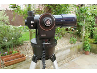 Meade ETX-70AT Astro Telescope, controller, accessories, tripod and case
