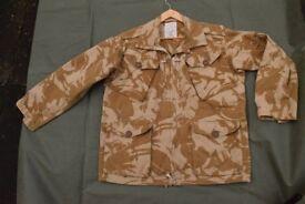 Rare Vintage - British Army 1990 Issue DESERT Temperate Combat Jacket (XL)