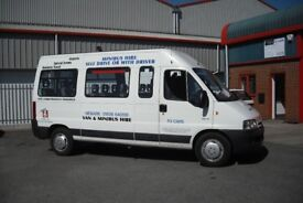 14 SEATER MINI BUS HIRE WITH DRIVER NEWARK