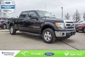 2014 Ford F-150 XLT FORD CERTIFIED LOW RATES & EXTRA WARRANTY!
